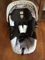 Britax infant car seat and base