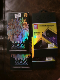 Samsung Galaxy S9+ tempered glass screen protectors