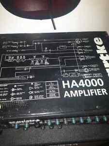 Hartke HA 4000 Bass head...AWESOME