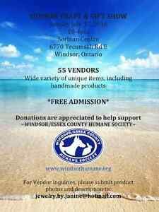 SUMMER CRAFT & GIFT SHOW ~ Windsor, Ontario