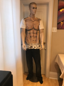 Mannequin white male