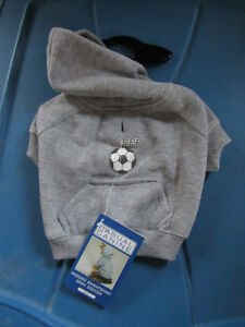 Brand new Soccer Dog Hoodie size small