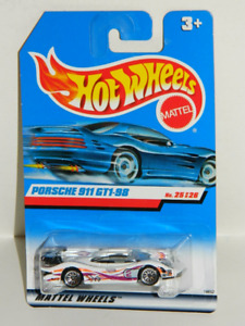 Hot Wheels 1/64 Porsche 911 GT1-98 Diecast Car