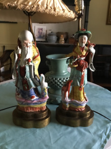 Antique Chinese Lamps