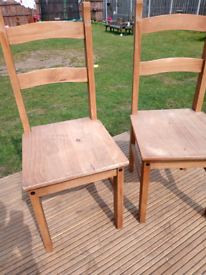 Set of two natural chairs (more available) Leeds