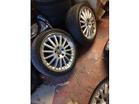 Audi BBS Calito alloys