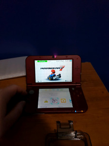 New Nintendo 3DS XL Red with 9 games 300 OBO