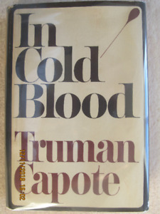 IN COLD BLOOD by Truman Capote – 1965 1st Edition