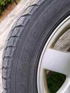 OEM BMW rims and winter tires Kitchener / Waterloo Kitchener Area image 2