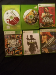 XBOX 360 Games 12 Total