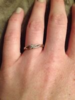 Promise / engagement ring