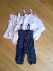 3 BabyGap 12-18 month Dresses/Outfits