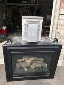 Brand New Gas Fireplace