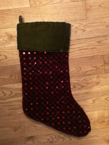 Pottery Barn Stocking