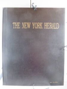 Harpers weekly NY herald London news
