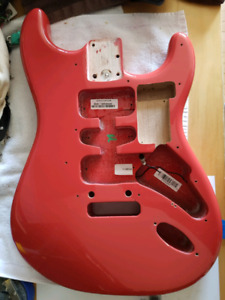 Fender American Deluxe Stratocaster MIA Body Fiesta Red