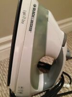 Black and decker iron - excellent condition