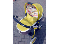 **FURTHER REDUCED** Cosatto Ooba Travel System/Pram in Marzipan. Excellent condition. Must see!