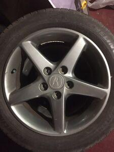Acura RSX or Honda Prelude WheelS/Roues