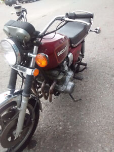 "1979 Suzuki GS 850 ""trade"""