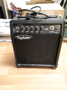 Small typhoon electric guitar amp
