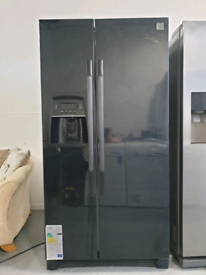 🟢 DAEWOO American style fridge freezer with Dispenser FREE Delivery