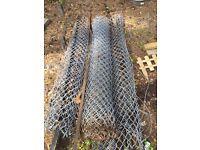 Free scrap metal/ tennis court fence