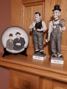 Laurel and Hardy Figurines