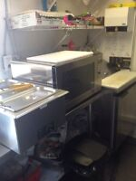 Stationary food/ chip/ fry truck reduced price