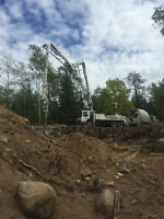 Concrete pump operator
