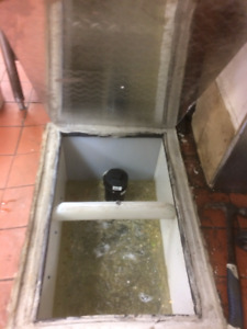 CUSTOM REBUILT GREASE TRAP IN POLYMERE, BEST PRICE!!!!