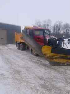 2006 VOLVO VHD DUMPTRUCK WITH PLOW AND SANDER