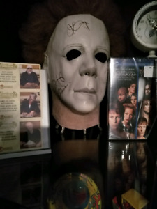 Limited edition signed Mike Myers mask