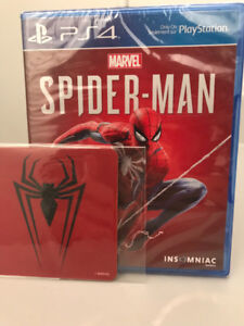 Spider-Man PlayStation 4 ps4 neuf sealed