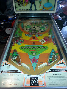 1975 BIG BEN pinball machine  (Williams)