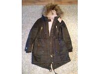 Ladies Cargo Style Winter Coat size 16