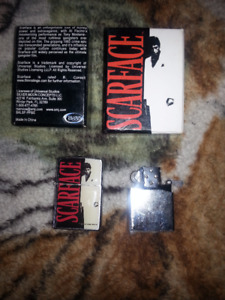 Scarface Collectible Lighter Very Mint!!