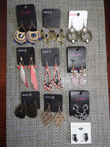 NEW large earrings - any two for $10 (or ALL for only $35!)