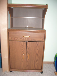 Microwave stand/ shelving unit