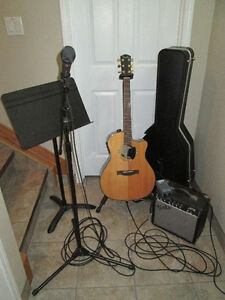 Guitar/ Amp/ Mic/ Stand and misc