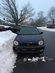 2002 Subaru Impreza ts parts cat