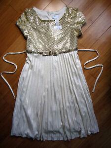 """""""MARC"""" Golden Dress - Size 12"""