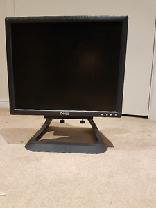 "Dell 17"" Monitor with Adjustable height integrated stand"