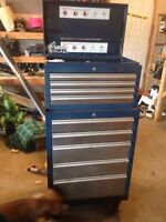 Mastercraft rolling cab and top chest