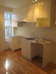 Appartement rénové à neuf, près métro et marché Jean-Talon