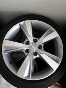 acura ilx 2014 mags with summer tires