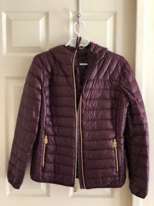 NEW w/o Tags - Michael Kors Down Packable Jacket Women Size L