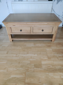 Used - solid oak coffee table - COLLECTION ONLY