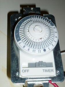 Indoor in wall timer