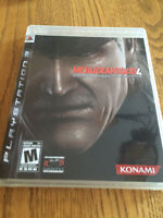 PS3 Metal Gear Solid 4 - Mint Condition, Barely Played